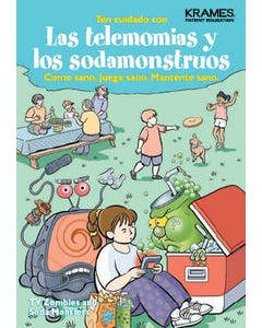 Watch Out for TV Zombies and Soda Monsters, Helping Your Child Maintain Healthy Weight (Spanish)