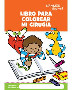 My Surgery Coloring Book (Spanish)