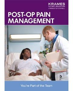 Post-Op Pain Management