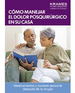 Managing Your Post-Op Pain at Home (Spanish)