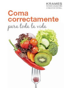 Eating Well for Life (Spanish)
