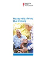 How to Help a Friend Quit Smoking, ALA