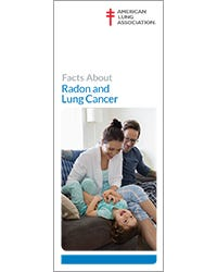 Facts About Radon and Lung Cancer, ALA