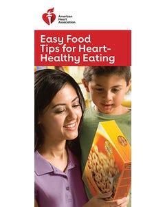 Easy Food Tips for Heart-Healthy Eating, AHA