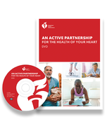 An Active Partnership for the Health of Your Heart Workbook/DVD Set, AHA