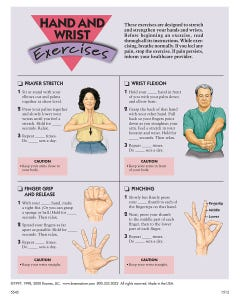 Hand and Wrist Exercises