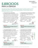 Back Exercises (Spanish)