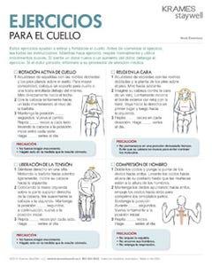 Neck Exercises (Spanish)