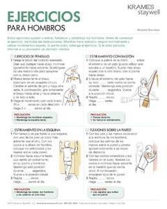 Shoulder Exercises (Spanish)