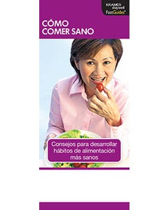 How to Eat Healthy, FastGuide (Spanish)