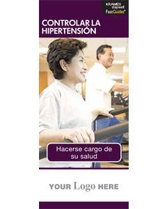 Managing High Blood Pressure FastGuide (Spanish)