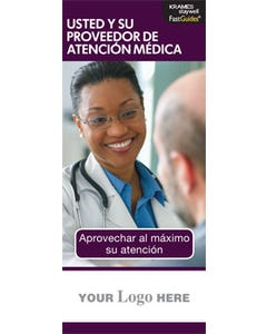 You and Your Healthcare Provider, FastGuide (Spanish)