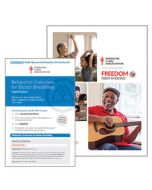 Freedom From Smoking Guide and Relaxation Exercises for Better Breathing Access Code Card, ALA