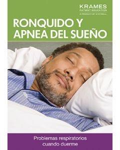 Snoring and Sleep Apnea (Spanish)