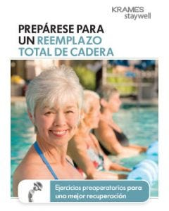 Getting Ready for Total Hip Replacement (Spanish)