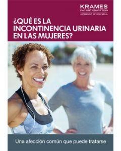 Understanding Urinary Incontinence in Women (Spanish)