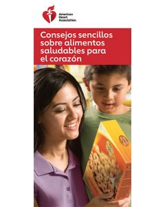Easy Food Tips for Heart-Healthy Eating, Spanish