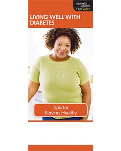 Living Well with Diabetes, FastGuide
