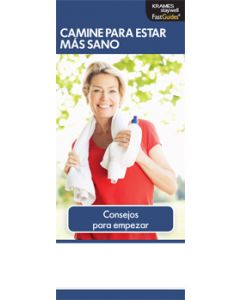 Walking For Better Health, FastGuide (Spanish)