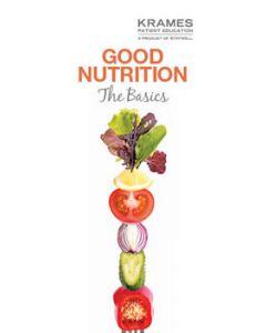 Good Nutrition: The Basics