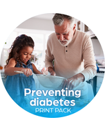 Preventing Diabetes Print Pack