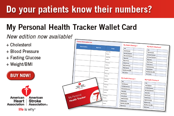 Blood Pressure Tracker Wallet Card Jaguar Clubs Of North