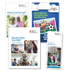 American Lung Association Asthma Books