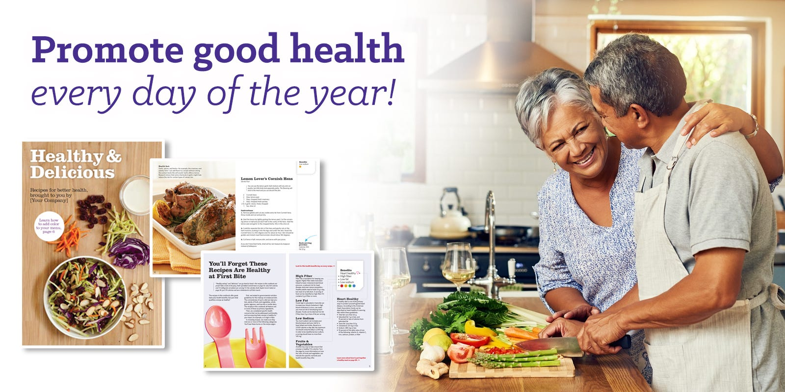 Promote good health every day of the year!